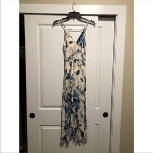 Lulus wrap high low dress